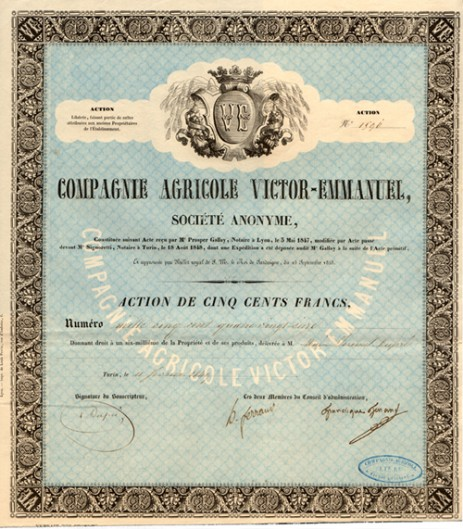 Compagnie Agricole Victor - Emmanuel